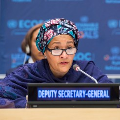 Amina Mohammed UN Deputy Secretary General wins Global Citizen Award