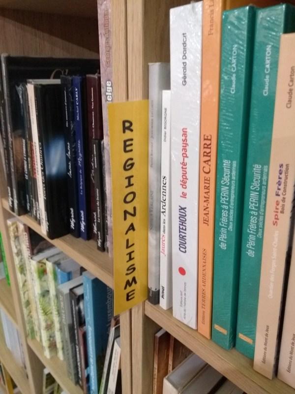 rayon Régionalisme Librairie Carnot