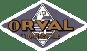 étiquette de la bière d'Orval
