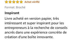 Commentaire Amazon