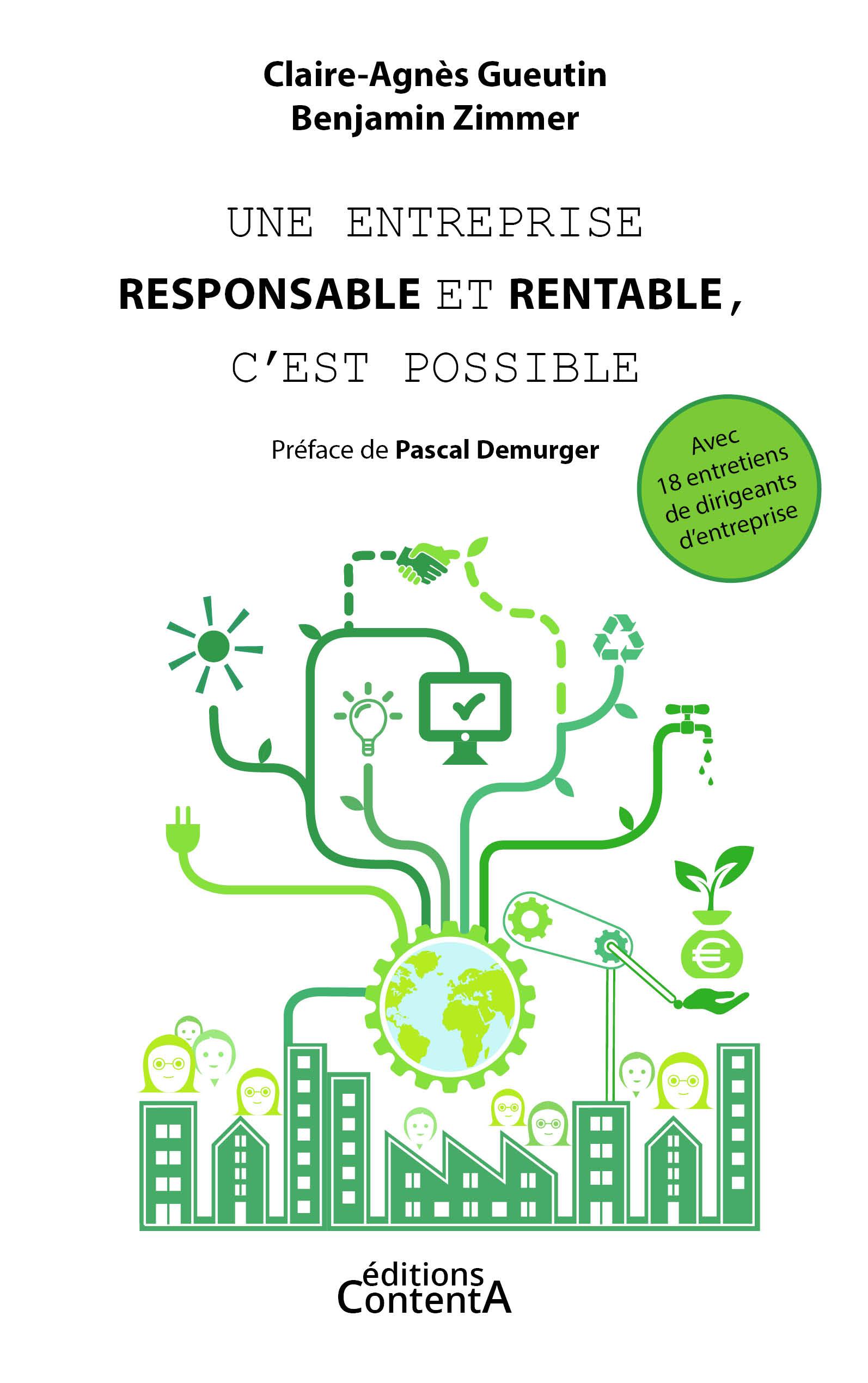 Une entreprise responsable et rentable, c'est possible_Gueutin Zimmer_éditions ContentA