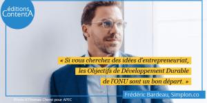 Frédéric Bardeau entrepreneur du numérique inclusif