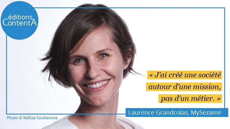 Laurence Grandcolas MySezame - éditions ContentA