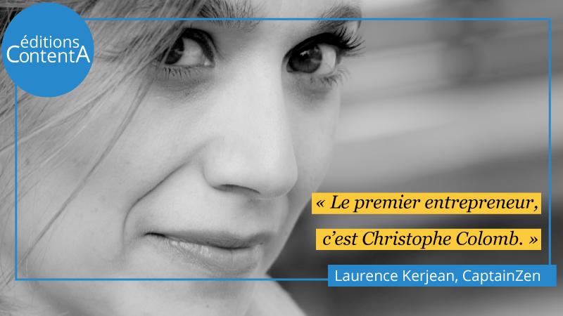 Photo couverture - Laurence Kerjean - CaptainZen - éditions ContentA