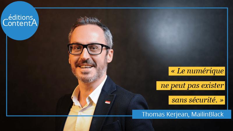 Thomas Kerjean - MailinBlack - éditions ContentA