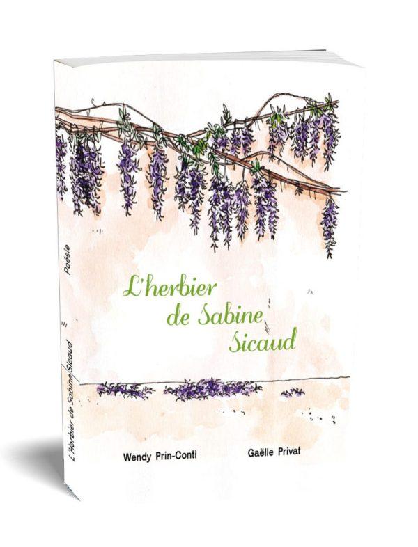 L'herbier de Sabine Sicaud - editions veliplanchistes 2021 poesie