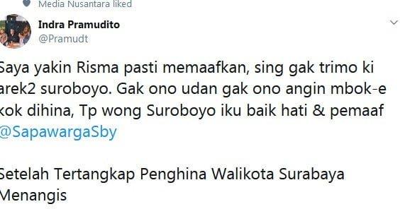 Arek Suroboyo Ga Terimo Mbok-e Dihina