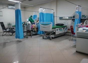 ilustrasi suasana rumah sakit