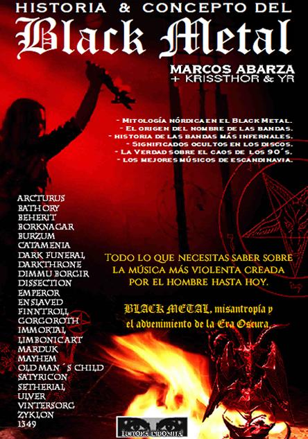 libro, black, black metal, historia, historia & concepto, historia del black metal, historia del black metal noruego