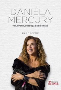 Capa de Livro: Daniela Mercury Trajetória, produção e inovação V1