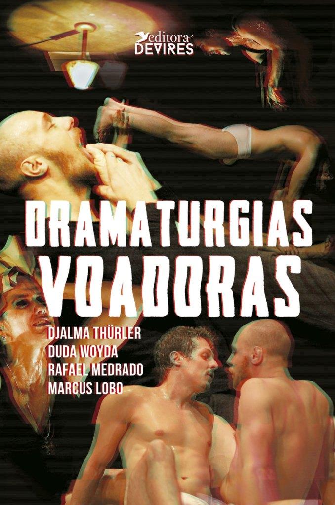 Capa de Livro: Dramaturgias voadoras