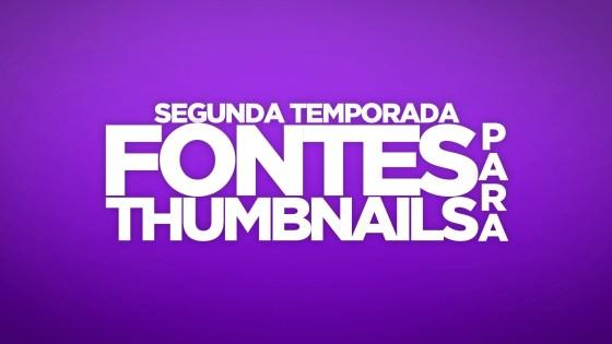 FONTES PARA INTRO DE VIDEOS