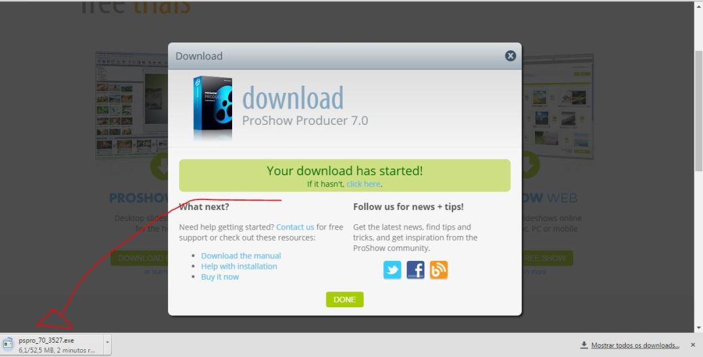baixa proshow download