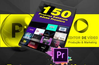 Projetos editáveis para adobe premiere 150 templates profissionais prontos