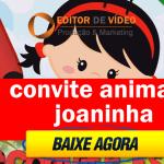 Convite Animado Joaninha