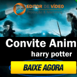 Convite Animado Harry Potter