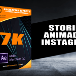stories animados instagram para after effects