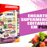 Encarte supermercado editável em psd