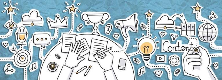 Für das gute Design einer Kundenzeitschrift müssen verschiedene Faktoren zusammenpassen.