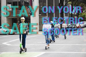 Stay safe on your electric scooter