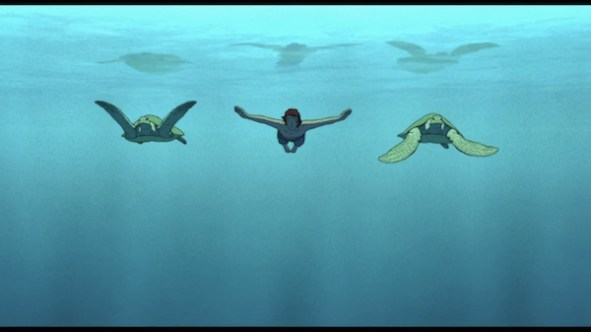 Critique du film - La tortue rouge