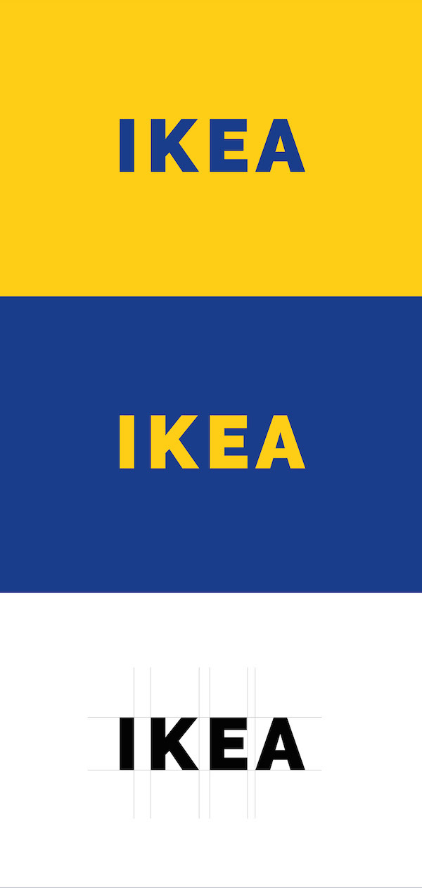 A Minimalist Redesign Concept Of Ikea S Logo That Opts For
