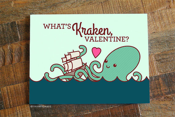 Cute And Nerdy Greeting Cards That Will Surely Brighten