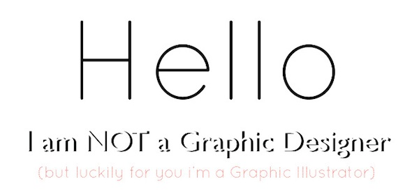 thinks the creative typographic résumé of a graphic