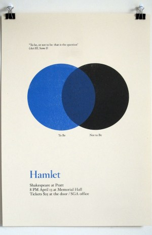 Three Famous Shakespeare Quotes As Minimalistic Diagrams  DesignTAXI