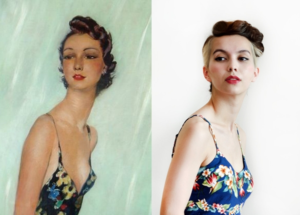Outfits From Famous Paintings