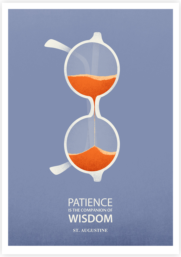 Clever Illustrations Of Famous Quotes From Steve Jobs Albert Einstein Amp More