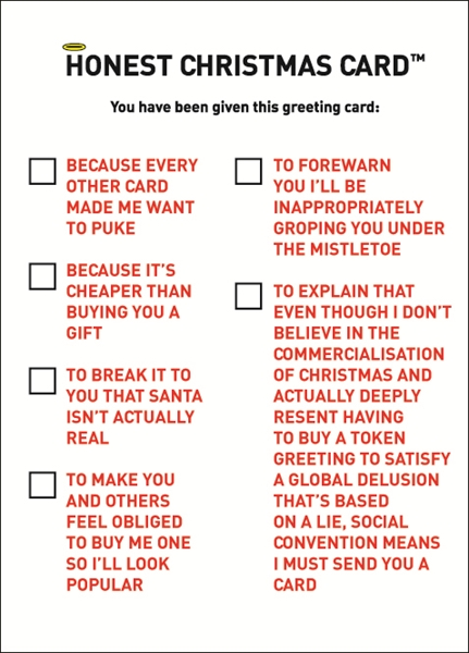 Hilariously Rude Amp Punny Cards For This Christmas