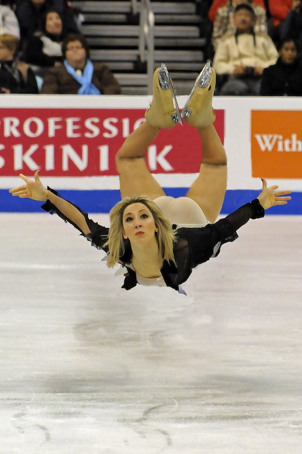 Funny Photos Of Pairs Figure Skaters In Which One Of The