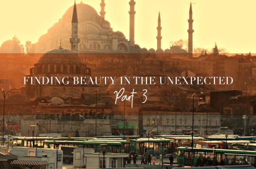 Finding beauty in the unexpected pt3
