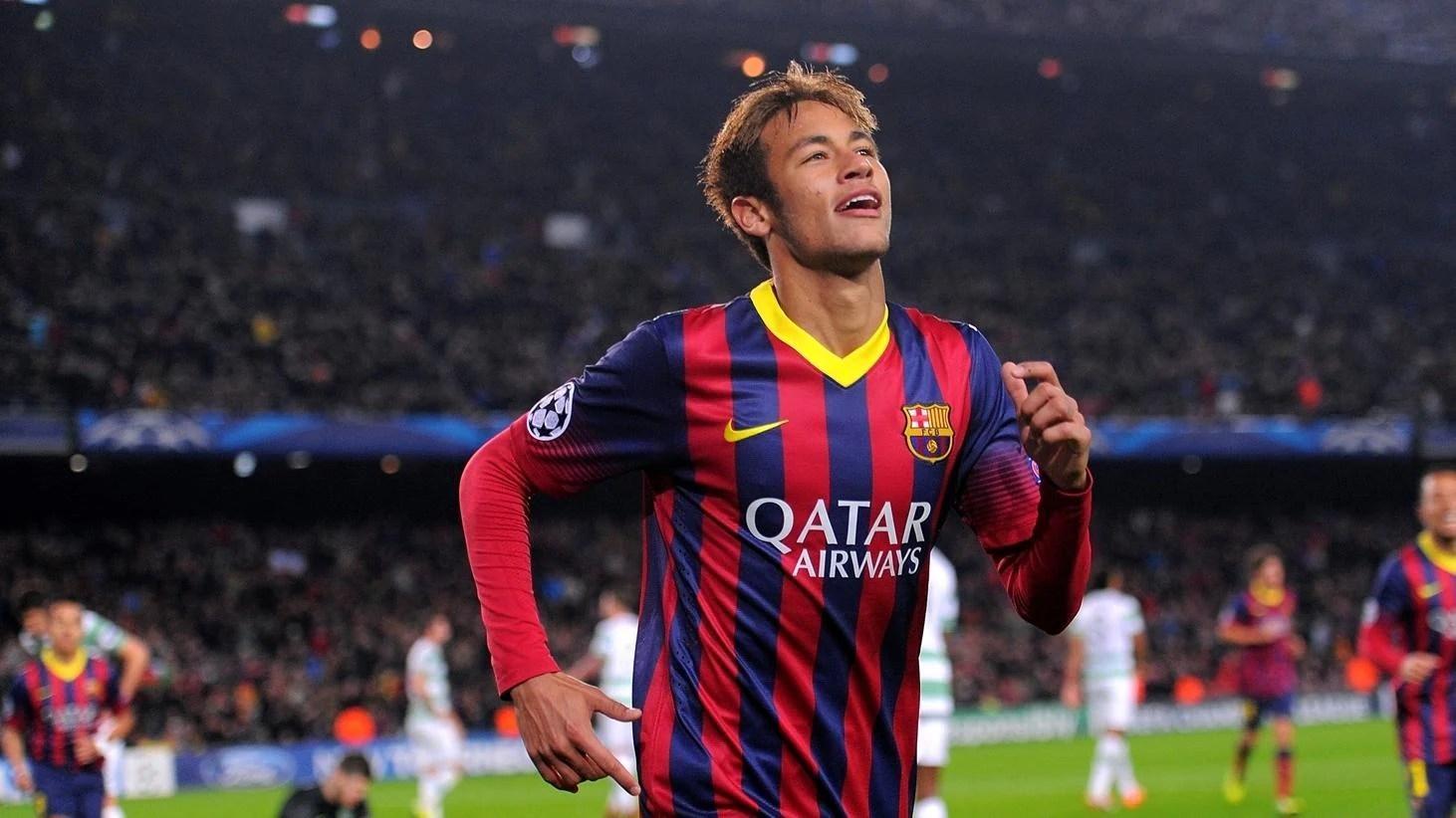 Barcelona Hat Trick Hero Neymar S Joy Uefa Champions League Uefa Com