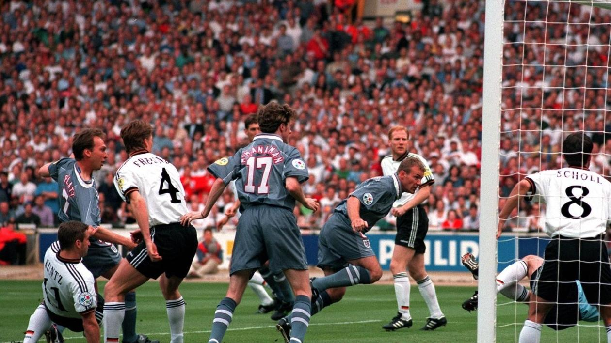 Germany-England | Germany beat England on penalties to reach EURO '96 final  | UEFA EURO | UEFA.com