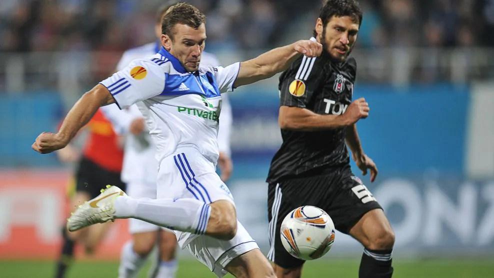 Great Dynamo Kyiv Europa League goals