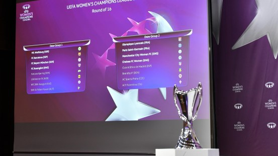 Women's Champions League Round of 16 Draw  UEFA Women's Champions League