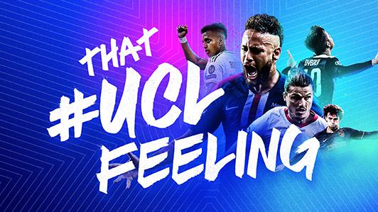 The Champions League anthem is at the top of #UCLOFeeling the Voice  UEFA Champions League