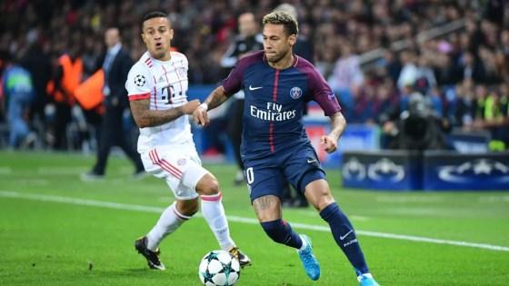 Pertemuan Bayern v Paris sebelumnya