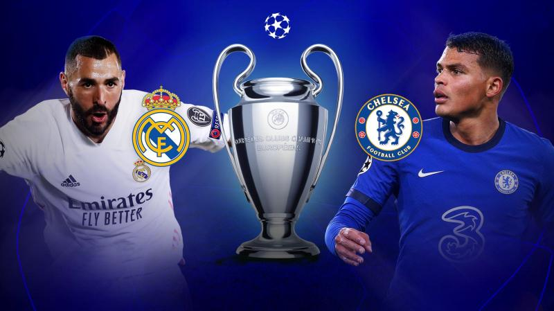 Real Madrid vs Chelsea Champions League