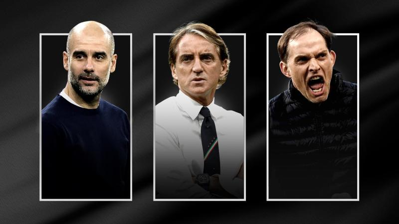 Uefa Men Coach of the Year 2021 award- Final 3 Nominees