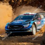 Teemu Suninen Finland Drives His Ford Fiesta Foto Editorial Imagem De Banco Shutterstock