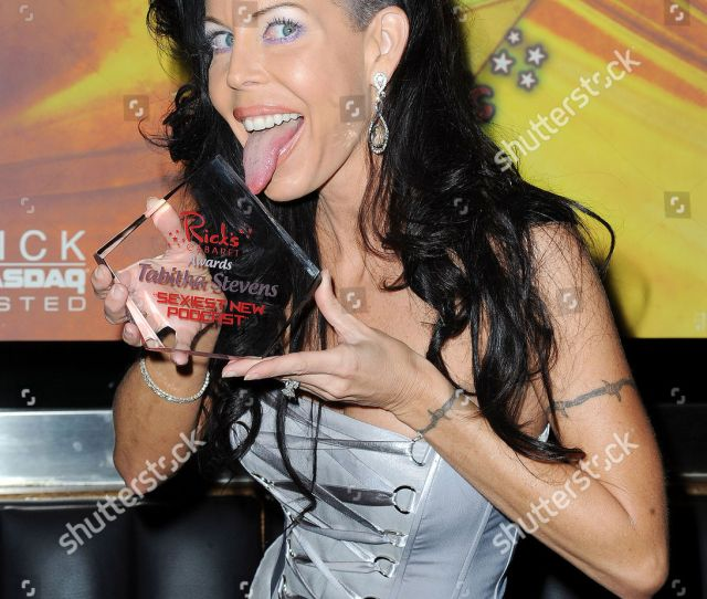 Stock Photo Of Tabitha Stevens Receives Sexiest Podcast Award At Ricks Cabaret New York