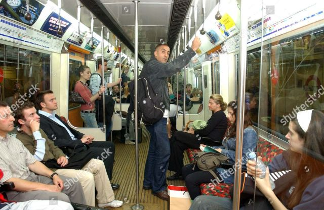 Shekhar Bhatia Travelling On The Tube With A Rucksack Following The London Bombings Asian Journalist