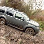 Nissan Pathfinder 25 Dci Tspec Going Offroad Editorial Stock Photo Stock Image Shutterstock