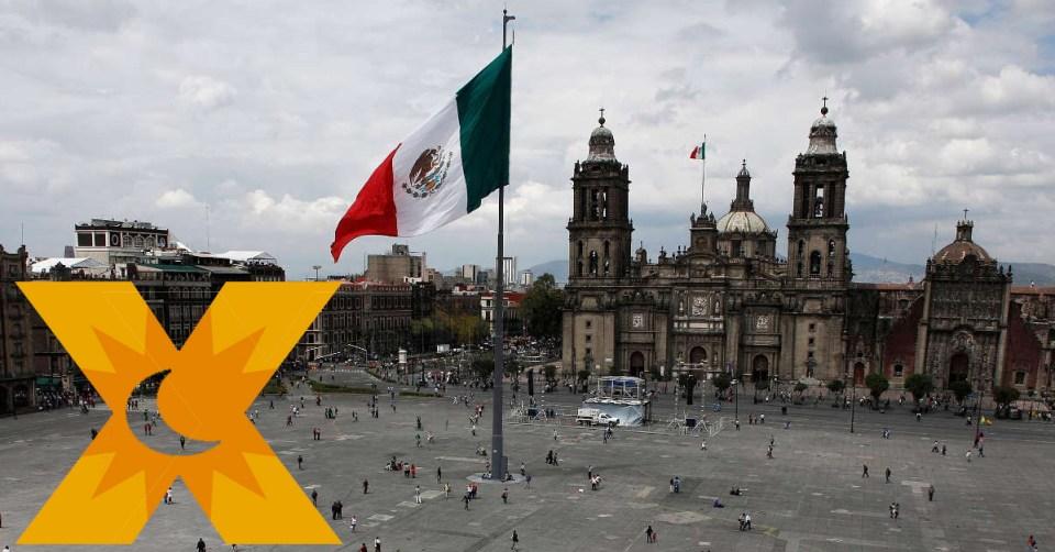 La X en México.