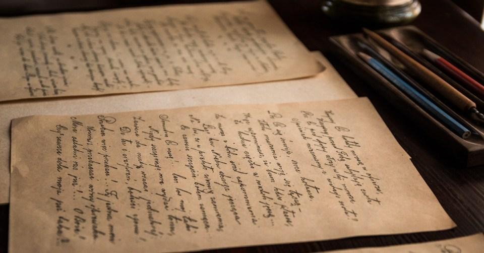 Escrito antiguo