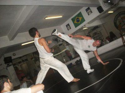 A capoeira que se faz em Santos