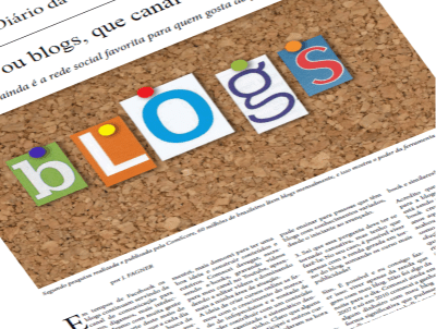 FACEBOOK OU BLOGS, QUE CANAL ME SERVE MAIS? #PEDAblogBR